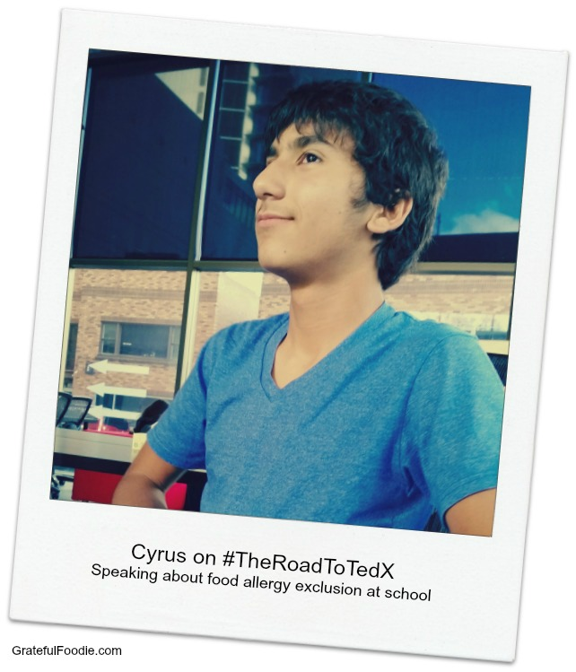 Cyrus on the Road to Tedx