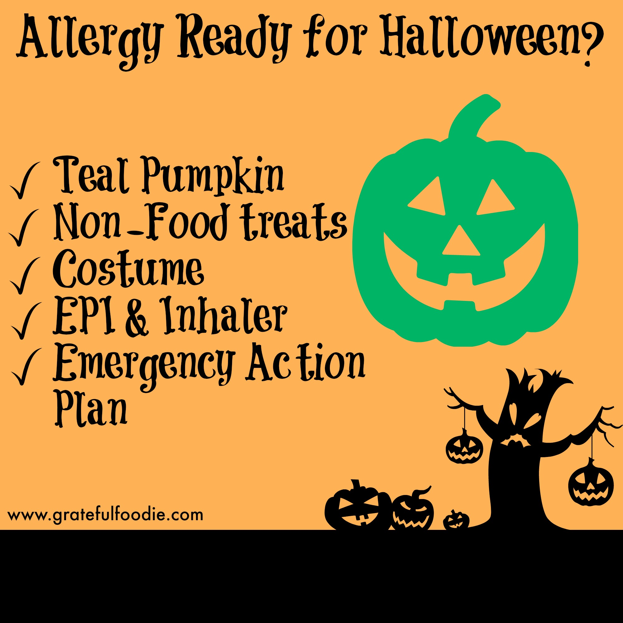 Allergy Ready for Halloween